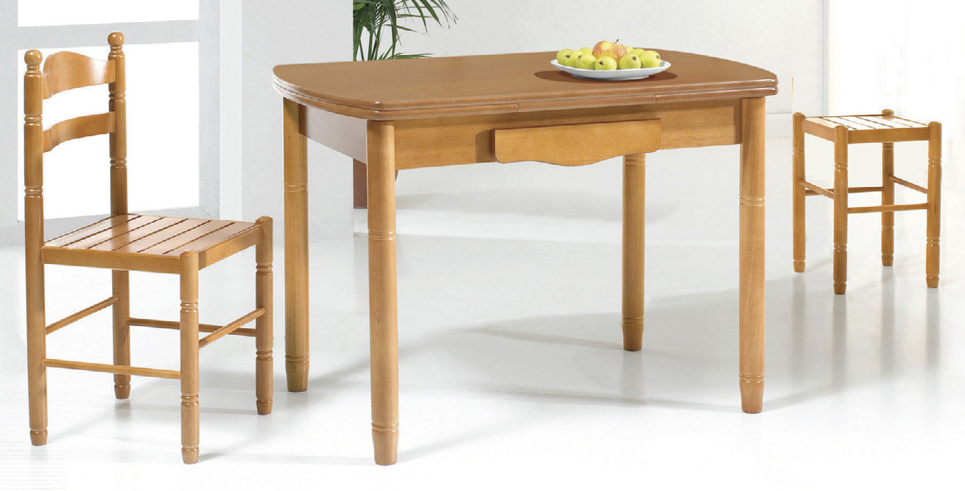 Mesas madera imeci f brica de mesas y sillas de cocina for Mesas y sillas de cocina comedor