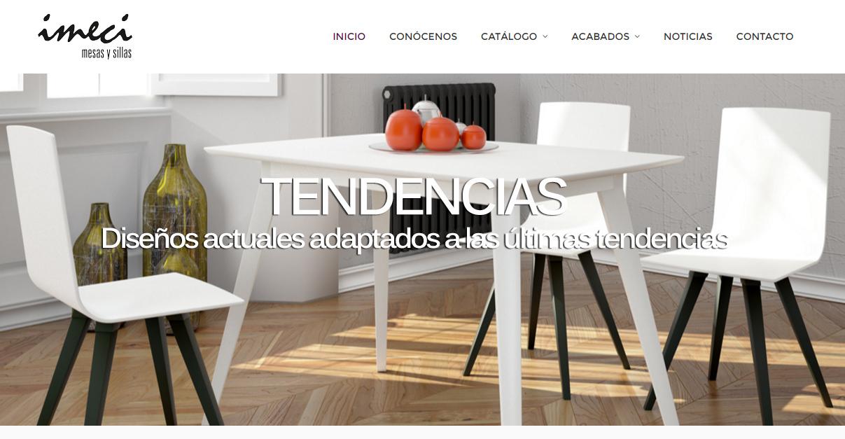 Nueva página web Imeci